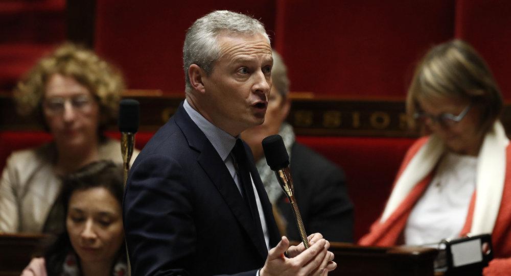 Ministro das Finanças da França, Bruno Le Marie