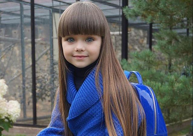 Anastasiya Knyazeva, considerada a criança mais bonita do mundo
