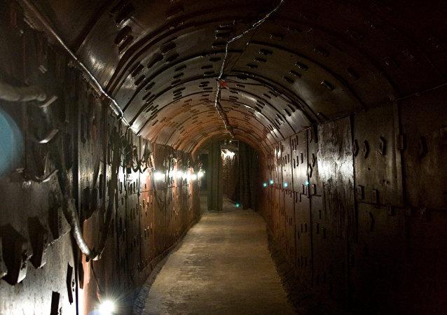Bunker no metrô de Moscou