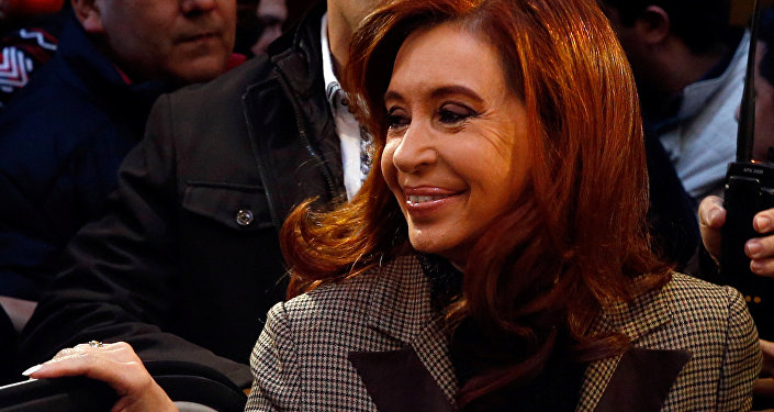 Cristina Fernández de Kirchner, ex-presidente da Argentina