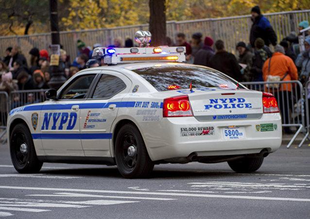 Viatura do Departamento da Polícia de Nova York