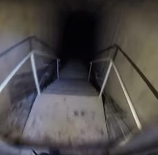 Bunker secreto dos tempos da Guerra Fria