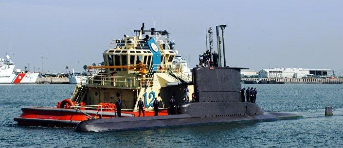Submarino colombiano Tayrona