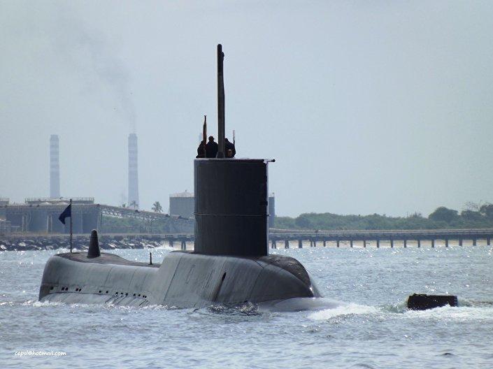 Submarino venezolano Sábalo