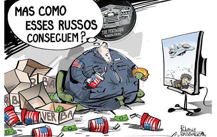 Quando o dinheiro não abre todas as portas ou despesas enormas do Pentágono