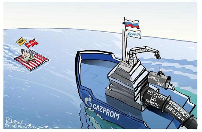 EUA, comandar Dinamarca não conseguirá parar a Rússia!
