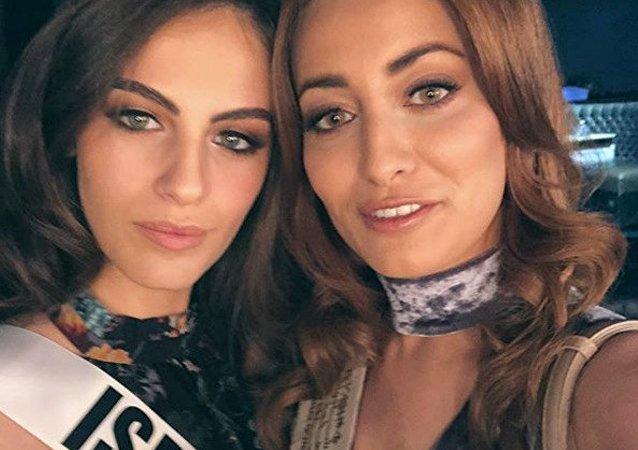 Miss Iraq, Sarah Idan e Miss Israel, Adar Gandelsman