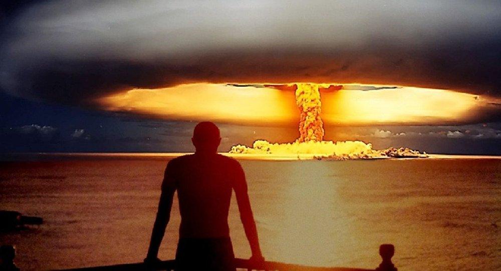 Uma explosão nuclear (imagem artística)