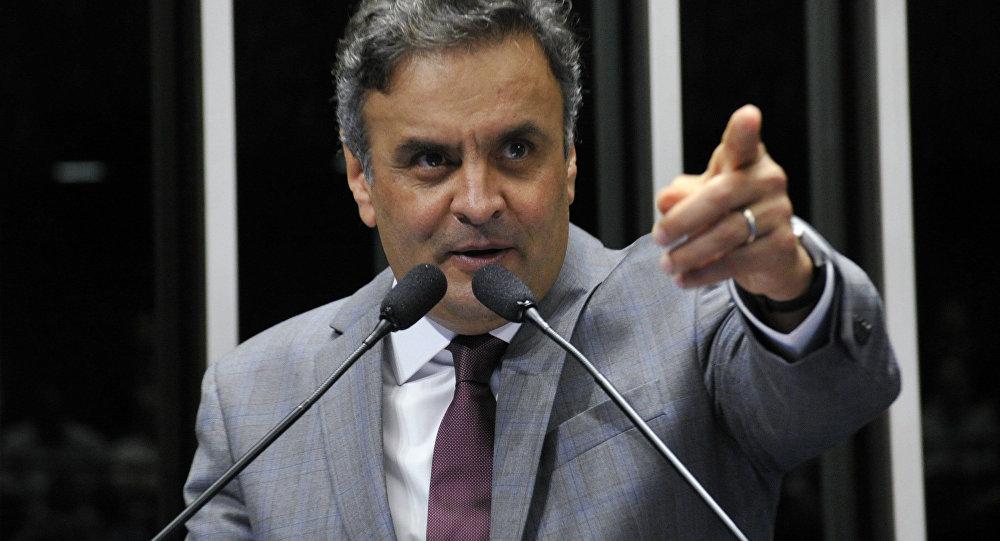 Senador pelo PSDB, Aécio Neves