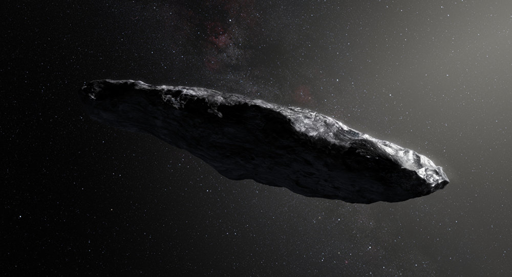 Oumuamua, o primeiro asteroide interestelar que entrou no nosso Sistema Solar