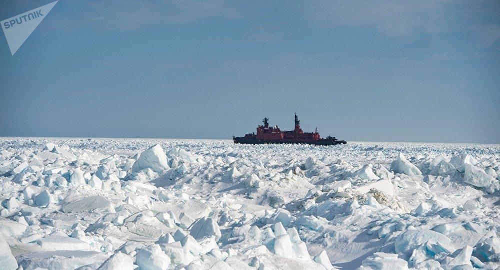 Quebra-gelo russo, imagem referencial