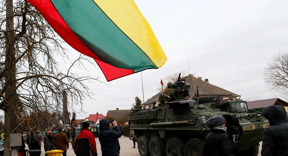 Exercício militar do exército da Lituânia