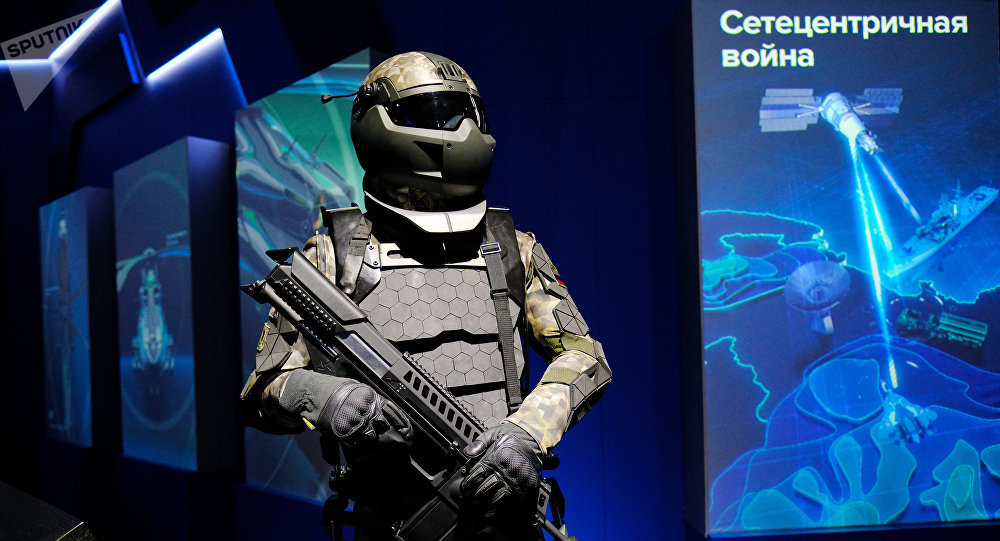 Rússia / Ratnik-3: Exoesqueleto e microdrones