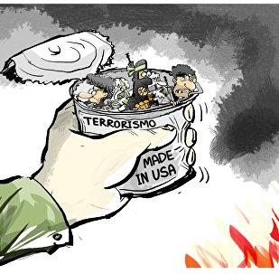 Aquele momento em que você abre uma lata dos EUA e saem terroristas de dentro