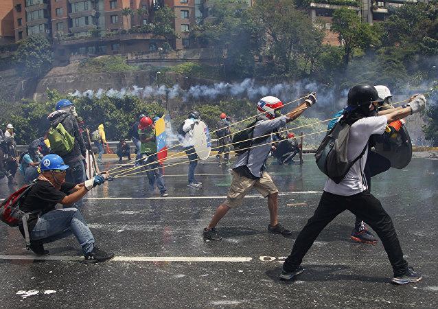 Instabilidade na Venezuela: uma onda de protestos deixou mais de 120 mortos no país governado por Nicolás Maduro.
