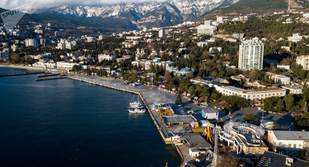 Cais de Lenin na cidade de Yalta, na Crimeia (imagem referencial)