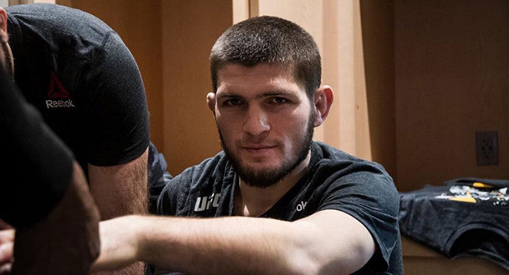 Lutador russo de MMA Khabib Nurmagomedov