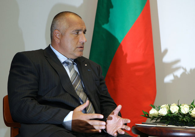Bulgarian Prime Minister, Boiko Borisov