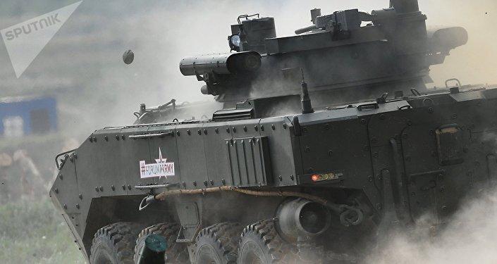 Bumerang, o novo veíulo blindado russo (imagem ilustrativa)