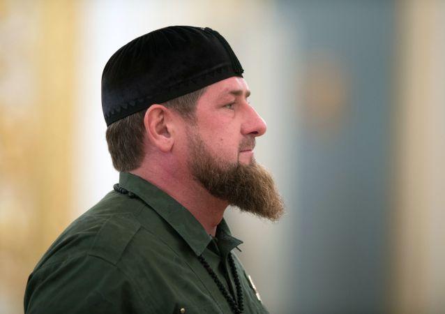 Chefe da Chechênia, Ramzan Kadyrov (foto de arquivo)