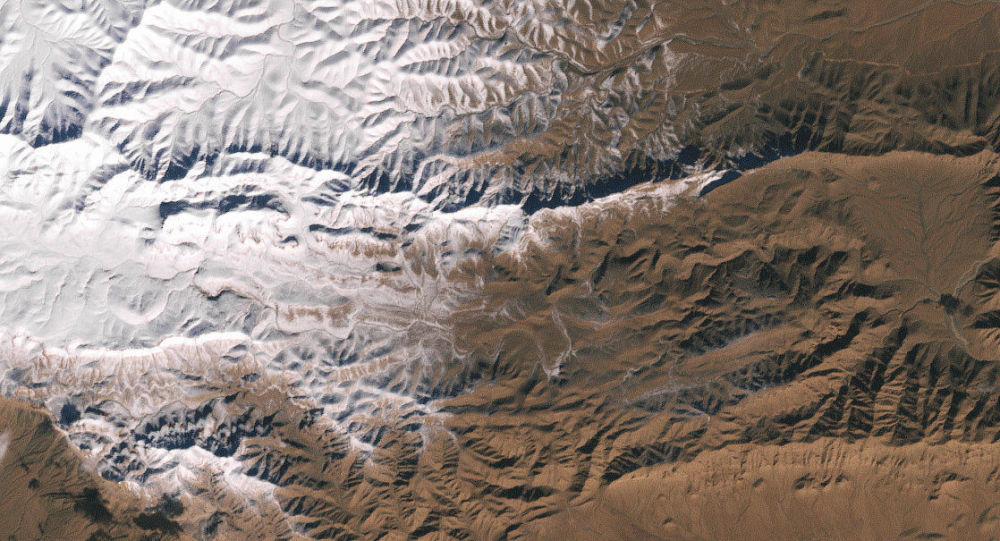 Neve no desrto do Saara