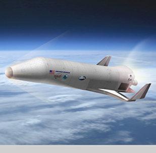 Nave espacial XS-1 da DARPA (imagem virtual)