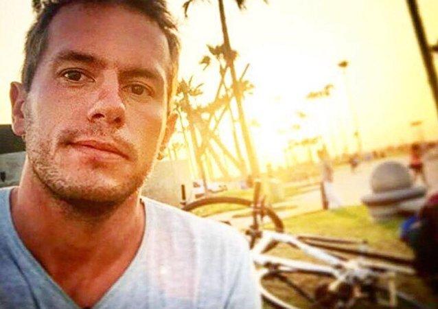 Brasileiro Jonatan Moisés Diniz, preso na Venezuela