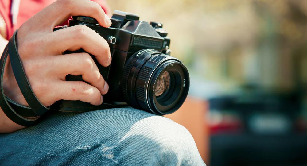 Uma câmera