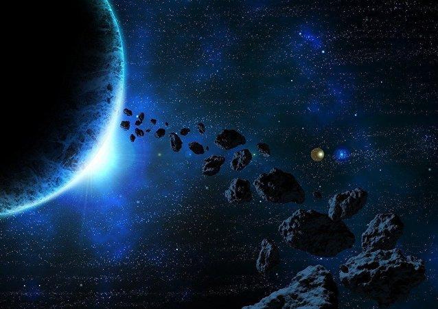Asteroides (imagem ilustrativa)