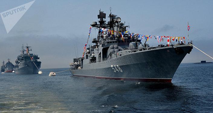Navio russo Admiral Panteleev