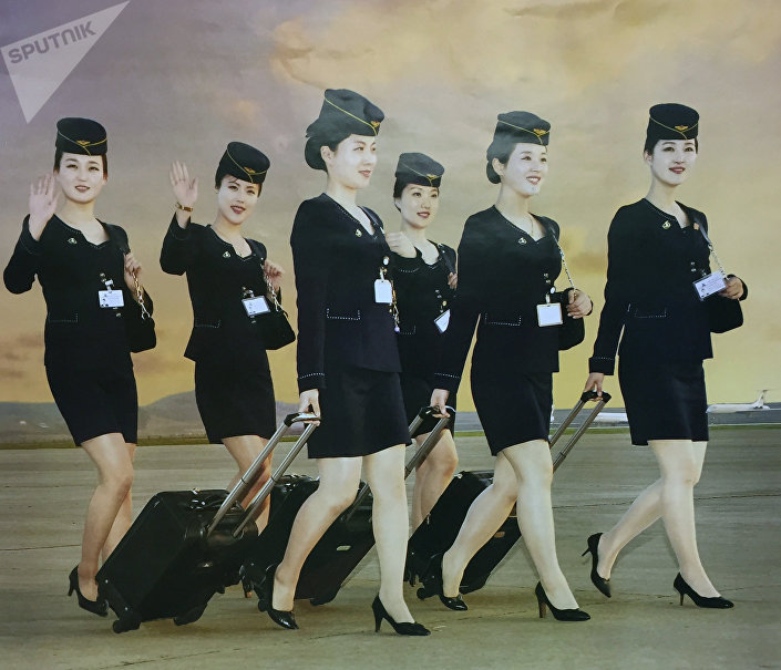 Aeromoças norte-coreanas