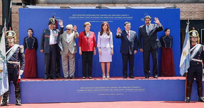Presidentes dos países membros do Mercosul