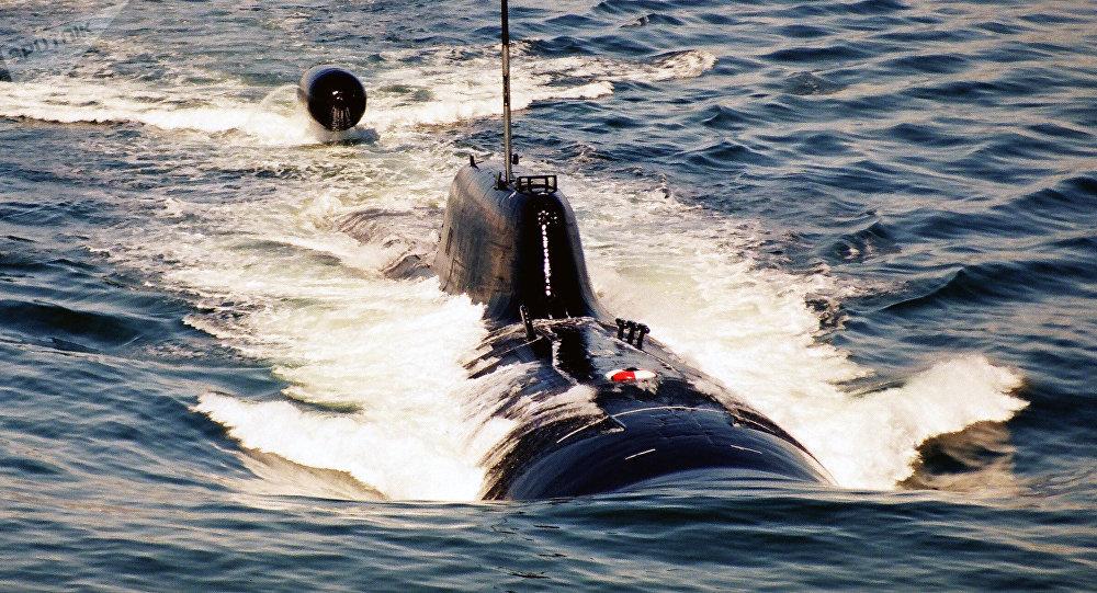 Submarino nuclear (imagem ilustrativa)