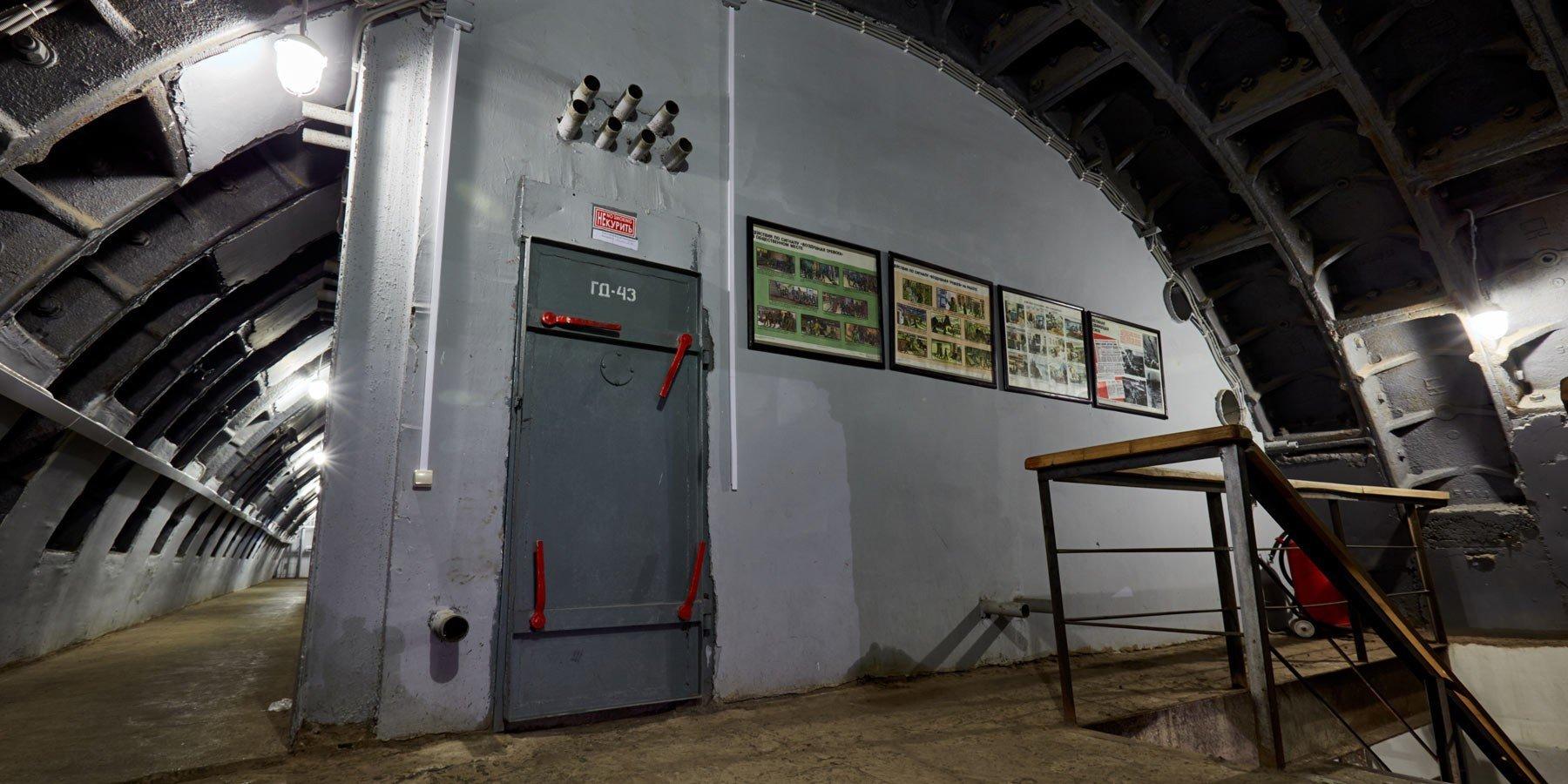 Interior do bunker 42 em Moscou
