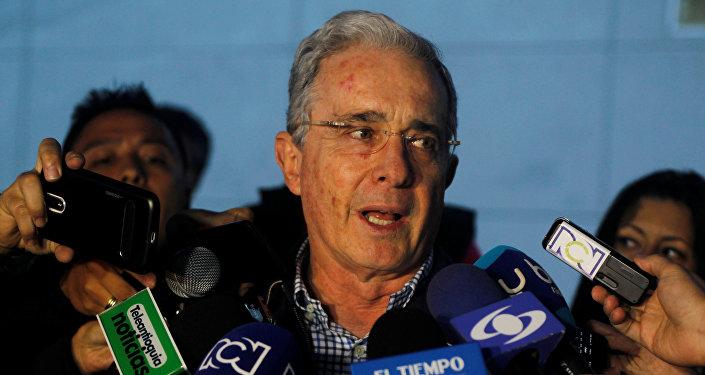 Álvaro Uribe, ex-presidente da Colômbia