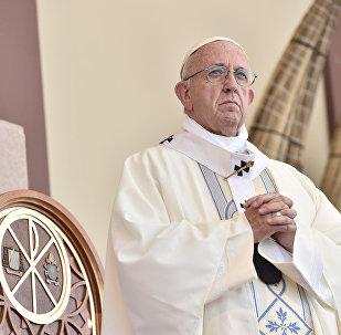 Papa Francisco celebra missa em Trujillo, Peru.