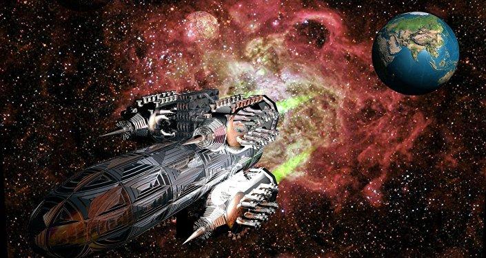 Nave espacial (imagem ilustrativa)