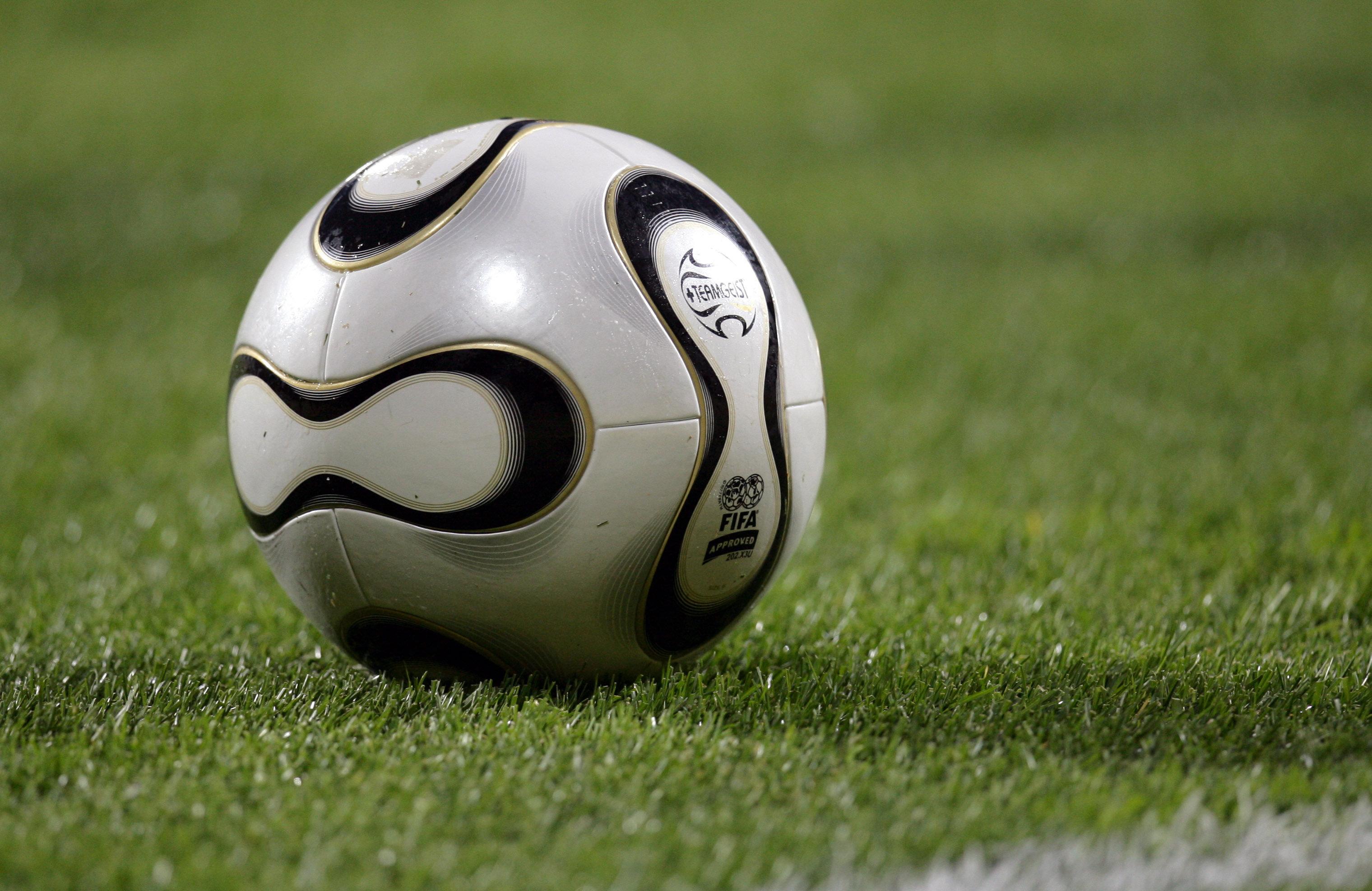 Teamgeist, a bola utilizada na Copa do Mundo da Alemanha, em 2006.