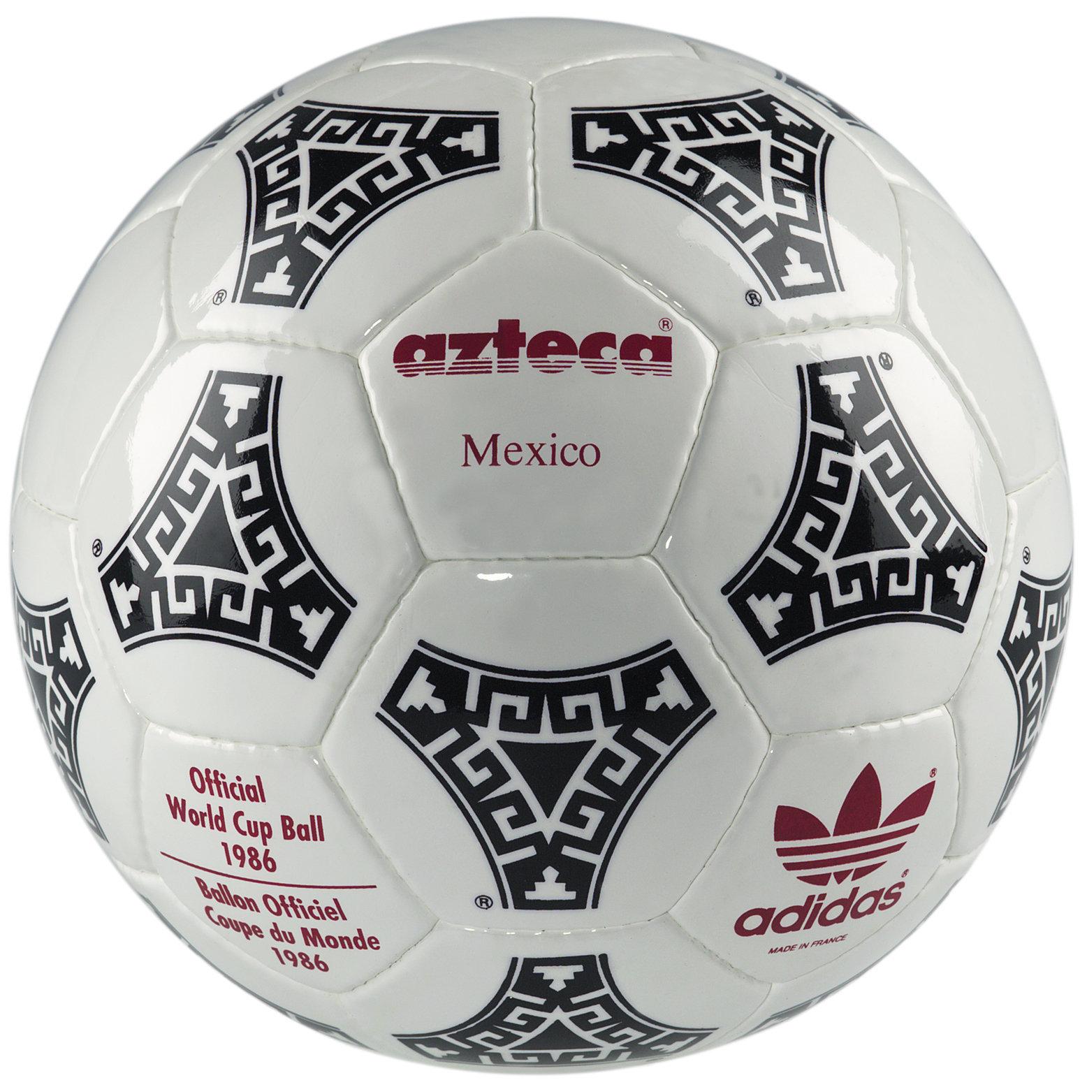 Bola da Copa do Mundo do México, em 1986.