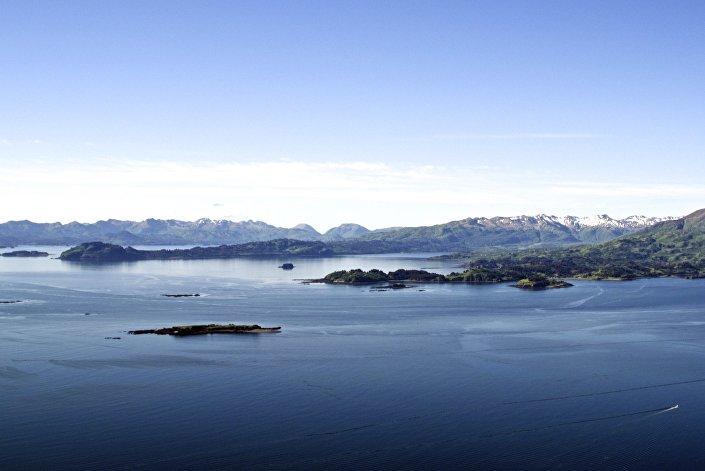 Kodiak, Alasca, foto de arquivo