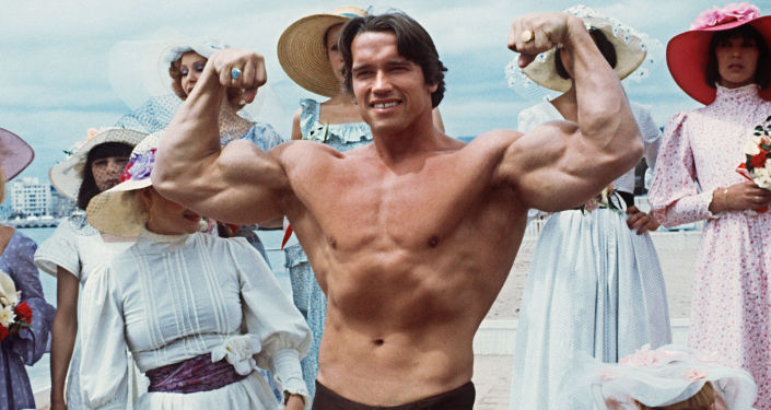 Arnold Schwarzenegger, foto de arquivo