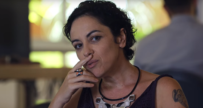 Márcia Tiburi, filósofa e artista plástica.