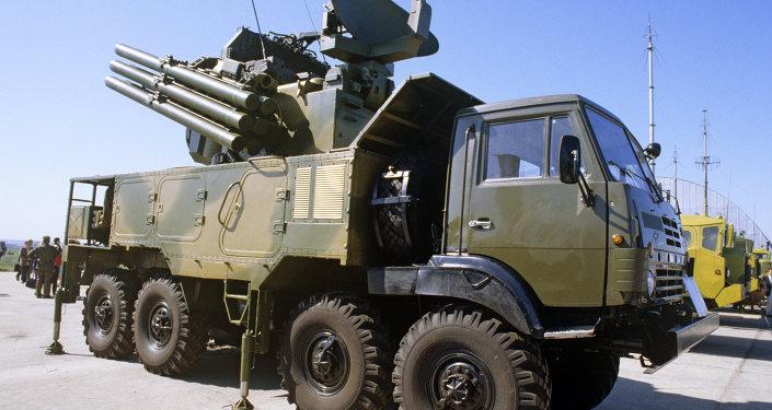Pantsir-S1, sistema russo de defesa antiaérea