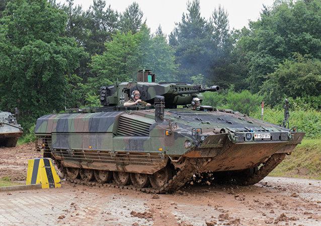 Novo blindado alemão Puma