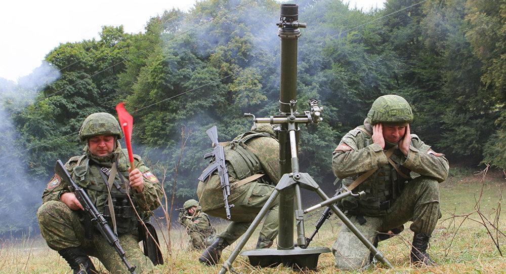 Exercícios militares conjuntos entre Rússia e Paquistão Amizade 2017