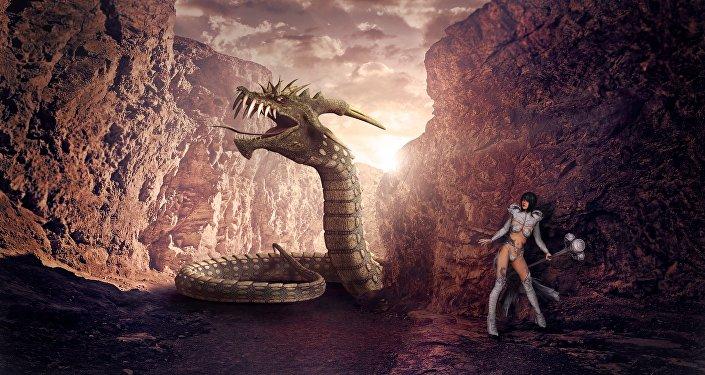 Dragão (imagem ilustrativa)