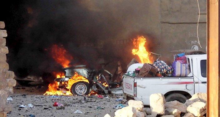 Ataques em série do Estado Islâmico em Ramadi, no Iraque.