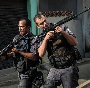 PM na Rocinha em março de 2015.