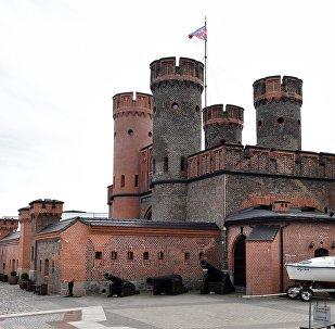 Porta da fortaleza de Friedrichsburgo em Kaliningrado