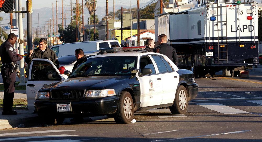 Agentes da polícia de Los Angeles